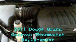 2011 Dodge Grand Caravan Thermostat Replacement
