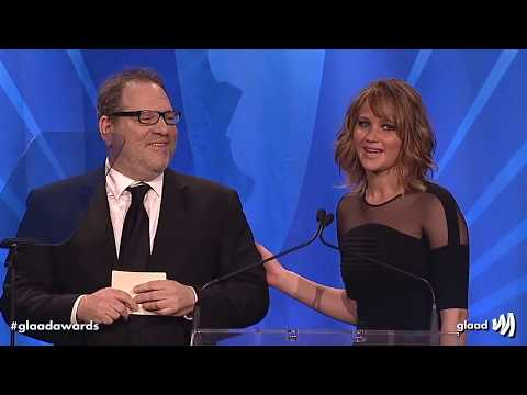 Hollywood loves Harvey Weinstein - montage of Matt Damon, Jennifer Lawrence, Meryl Streep etc
