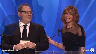 Hollywood loves Harvey Weinstein - montage of Jennifer Lawrence, Meryl Streep, Matt Damon etc - Internet Never Forgets