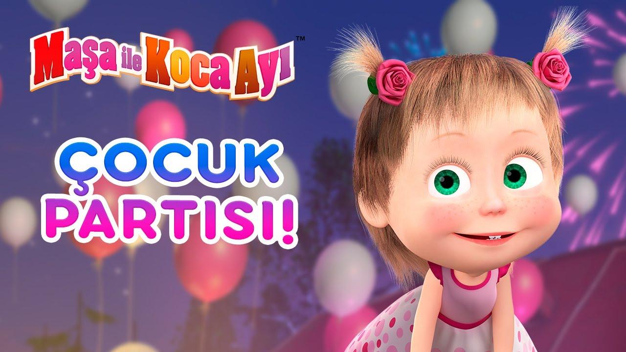 Maşa İle Koca Ayı - 🥳🧁 Çocuk partisi! 🎁👶 Bölüm koleksiyonu 🎬 Masha and the Bear Turkey