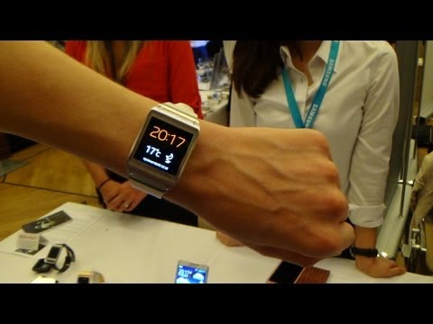 Samsung Galaxy Gear - Hands on, Walkthrough + Fazit