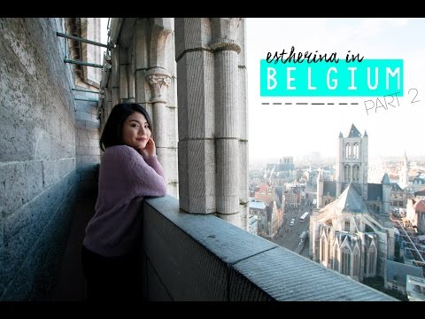 Belgium Travel Vlog Part 2 | ESTHERINA EXPLORES