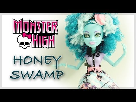 monster-high-:-frights!-camera!-action!---honey-swamp-review