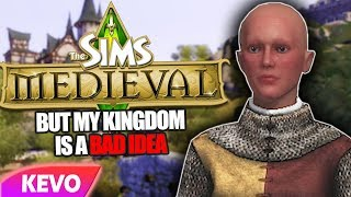 Sims Medieval but my kingdom is a bad idea