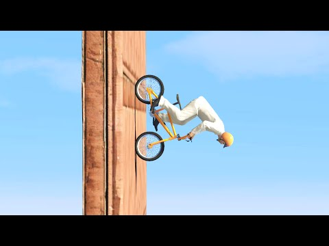 DOWN THE VERTICAL RAMP! (GTA 5 Funny Moments)