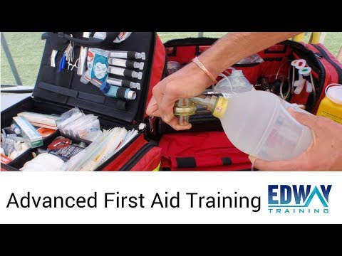 Advanced First Aid Course   Edway Training Melbourne