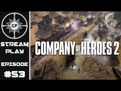 MG Spam Meet Scout Car! - Company of Heroes 2 Livestream on Greyshot Productions