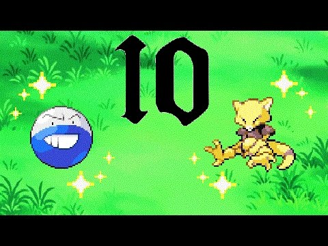 10 Fast Full Odds Hunts to Try: This video is not meant to be the top 10 fastest hunts, rather the first 10 hunts that come to most hunters' minds when thinking of fast hunts. I dis-counted some because of similarities, for example I'm not going to have every game's safari zone, so I put the fastest safari zone. And I realized right after making this that the gen 4 double battle encounters that you can do in D/P/Pt may be faster than the double grass in gen 5, I forgot they existed. If you guys want I can test that and put the rate in the description.  Live Random Shiny Tyrunt Video: https://www.youtube.com/watch?v=Can6LDXh3DU