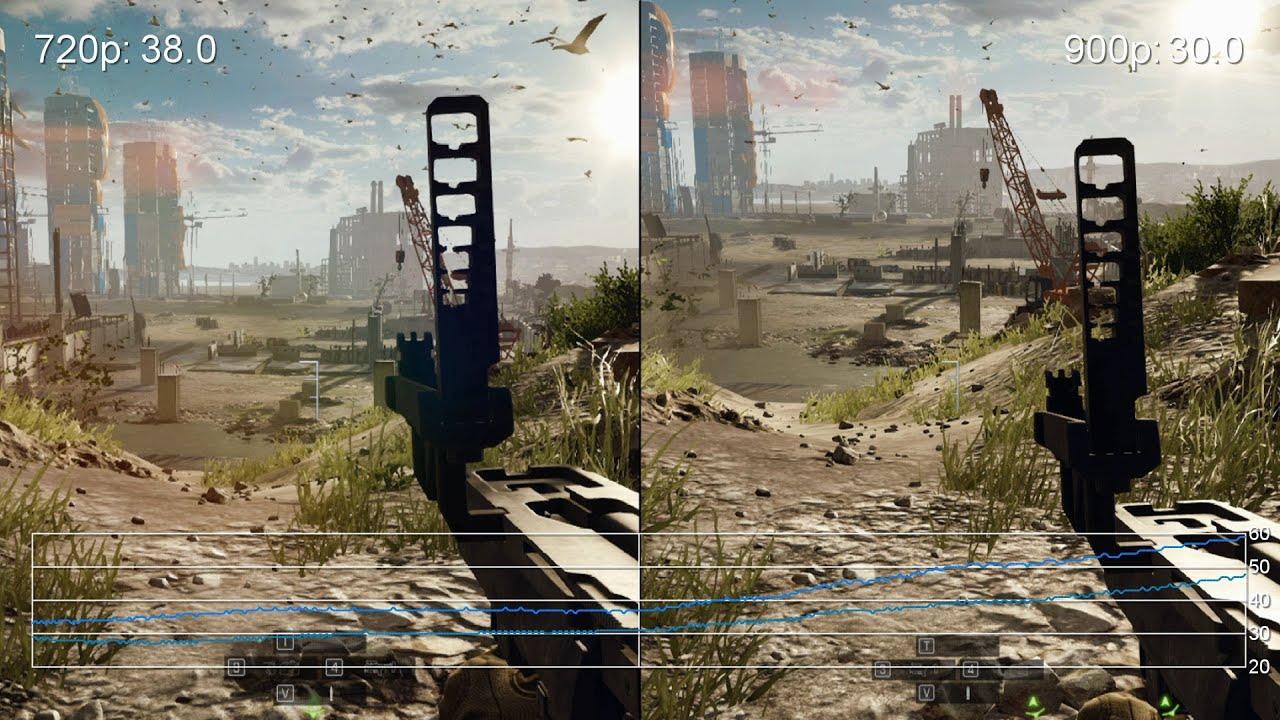 battlefield 4 medium gigabyte brix iris pro 720p vs 900p