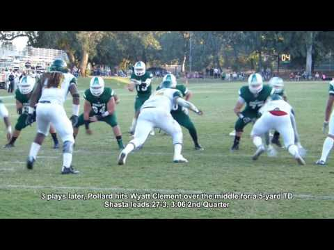No. 20 Shasta College thrashes Feather River 58-24