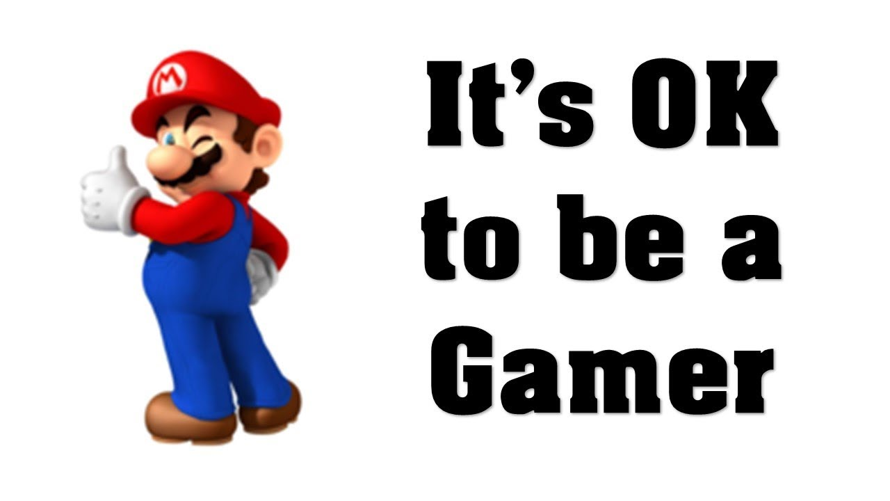 it s ok to be a gamer youtube