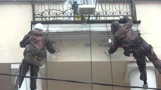 ПРОМТЕХАЛЬП - PROMTEHALP LLC - ремонт фасада альпинистами Москва(Строительно-монтажная компания ООО ПРОМТЕХАЛЬП -PROMTEHALP LLC. Профессионально производим высотные работы по..., 2015-09-28T19:37:29.000Z)