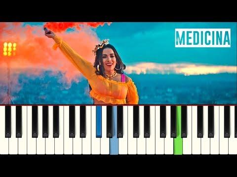 💎Anitta - Medicina - Piano tutorial - MASTER TECLAS💎