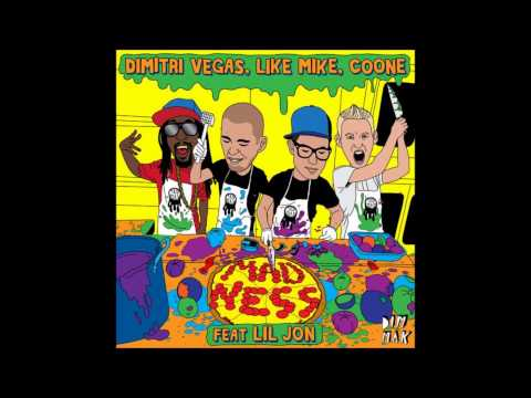 Dimitri Vegas, Like Mike, Coone & Lil Jon - Madness (Harry Ampelas Radio Edit)
