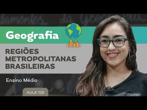 Regiões metropolitanas brasileiras