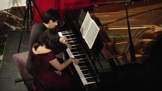Sonata for Piano Four-Hands in D major, K.381/123a, 1st movement (W.A. Mozert) by Izumi Pianoduo.
