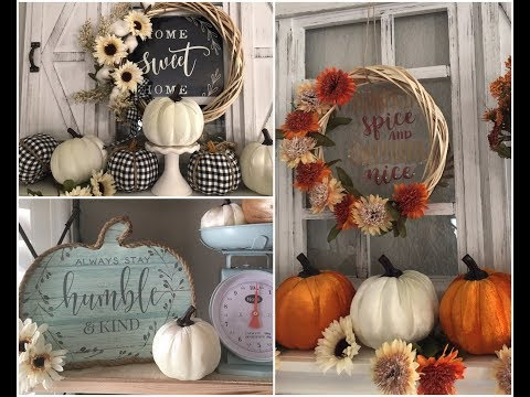 🎃 NEW FALL ITEMS AND DIYS FROM DOLLAR TREE 8-14-2019 🎃