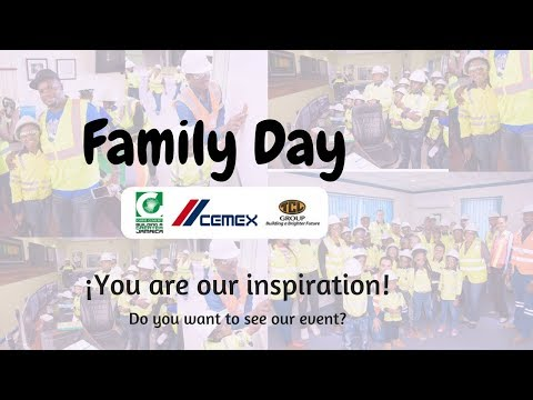 FAMILY DAY AND PLANT TOUR - CARIB CEMENT/ CEMEX