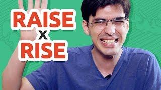 RISE x RAISE   Qual a diferença e como usar?