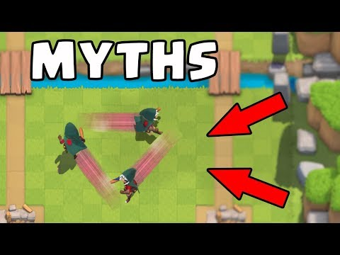 Top 10 Mythbusters in Clash Royale | Myths #5