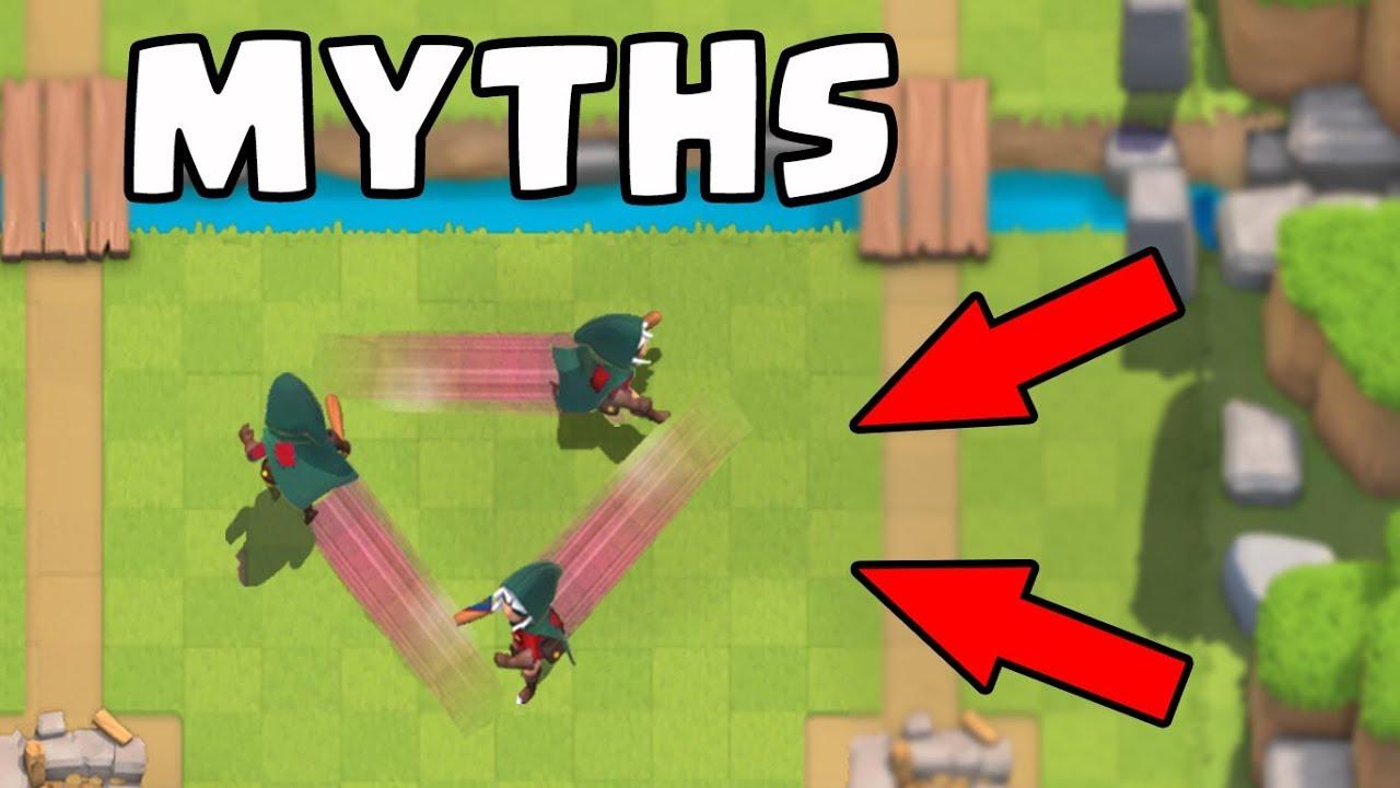 Os 10 melhores Caça-Mitos em Clash Royale | Mitos # 5 + vídeo