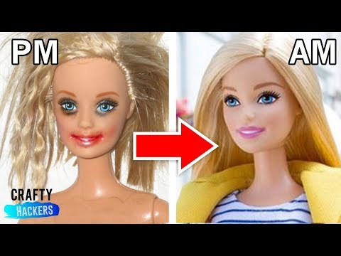 10 WAYS TO RECYCLE YOUR OLD BARBIE