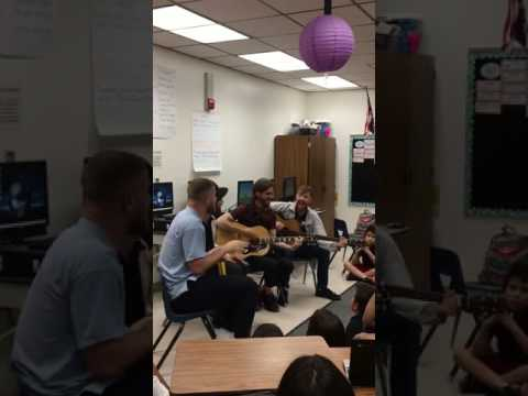 Imagine Dragons - Thunder Live Acoustic at Elaine Wynn Elementary School