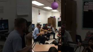 Imagine Dragons - Thunder Live Acoustic at Elaine Wynn Elementary School