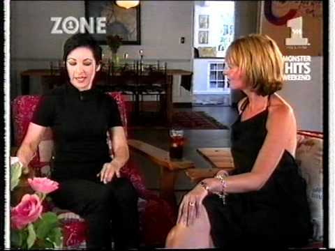 Jane weidlin being interviewed in her beautyful home