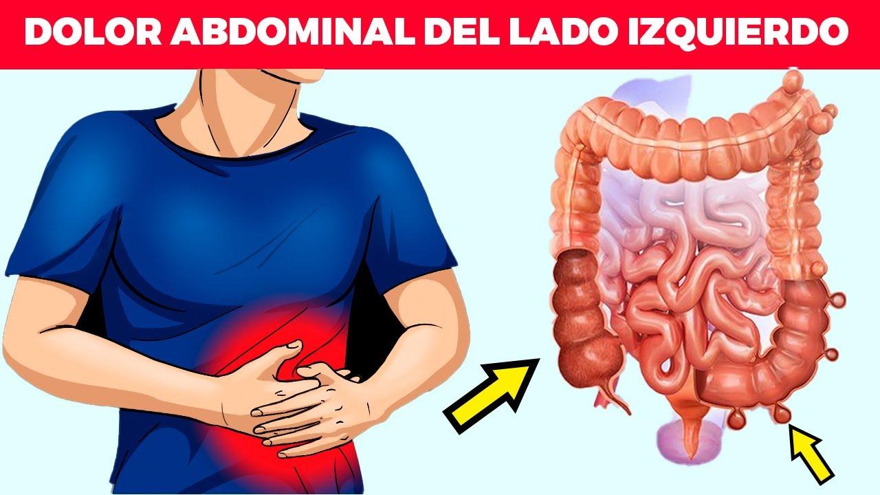 ¿Por qué tienes dolor abdominal del lado izquierdo?: causas, tratamiento y cuándo acudir al médico