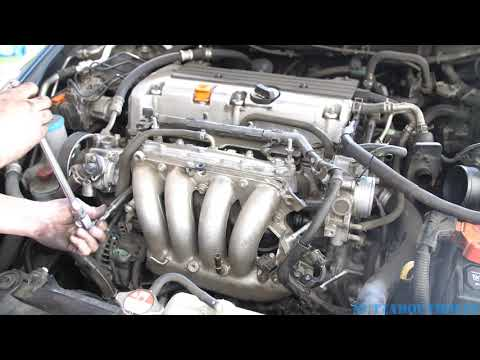[XOTG_4463]  2003-2007 Honda Accord Starter replacement - YouTube | 03 Accord 2 4 Engin Wire Harness |  | YouTube