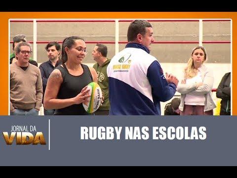 Rugby ganha destaque nas escolas – Jornal da Vida – 04/08/17