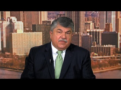 "AFL-CIO chief denounces Trump's ""spirited defense of racism and bigotry"""