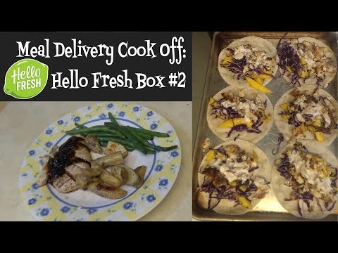 Meal Delivery Cook Off:  Hello Fresh Box #2