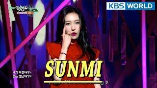 SUNMI - Heroine | 선미 - 주인공 [Music Bank COMEBACK / 2018.01.19]