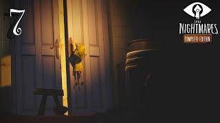 Little Nightmares прохождение на геймпаде часть 7 Финал: Возмездие