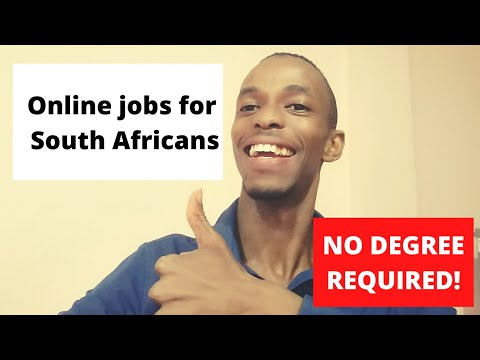 Online jobs for South Africans: Make money online in South Africa (No degree required)