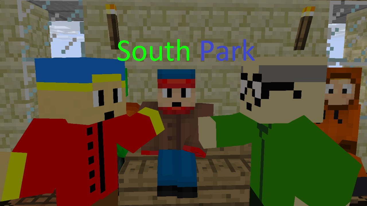 южный парк в майнкрафт #6