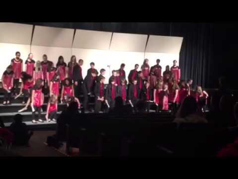Boltz middle school show choir - newsies medley 5/9/2015