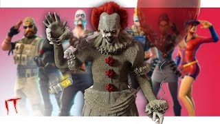 """Pennywise Voice Prank HORRIFIES Fortnite Players! 