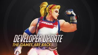 Developer Update | The Games Are Back! | Overwatch thumbnail