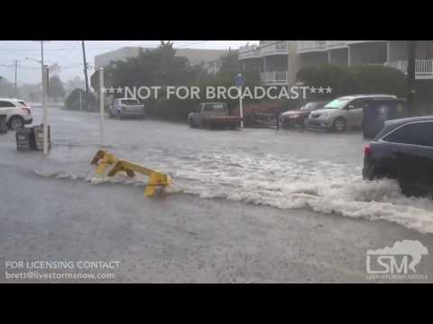 07-06-2017 Bethany Beach / Ocean View Delaware Flash Flooding - 8:00pm