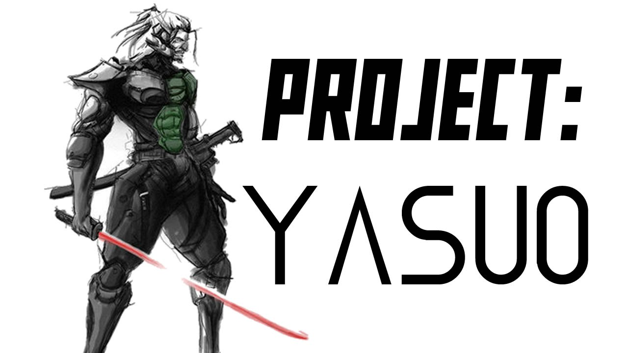 PROJECT: Yasuo | LoL Wallpapers