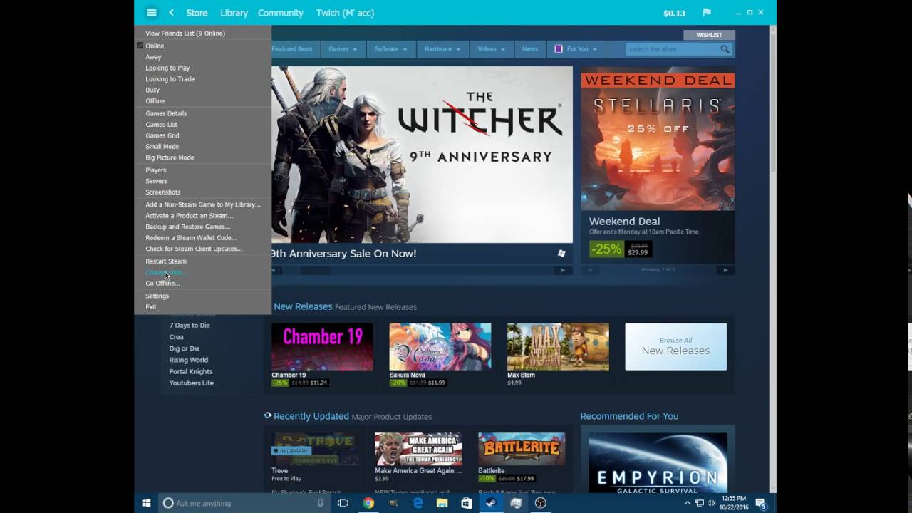 What to do if the Steam client bootstrapper program is terminated 83