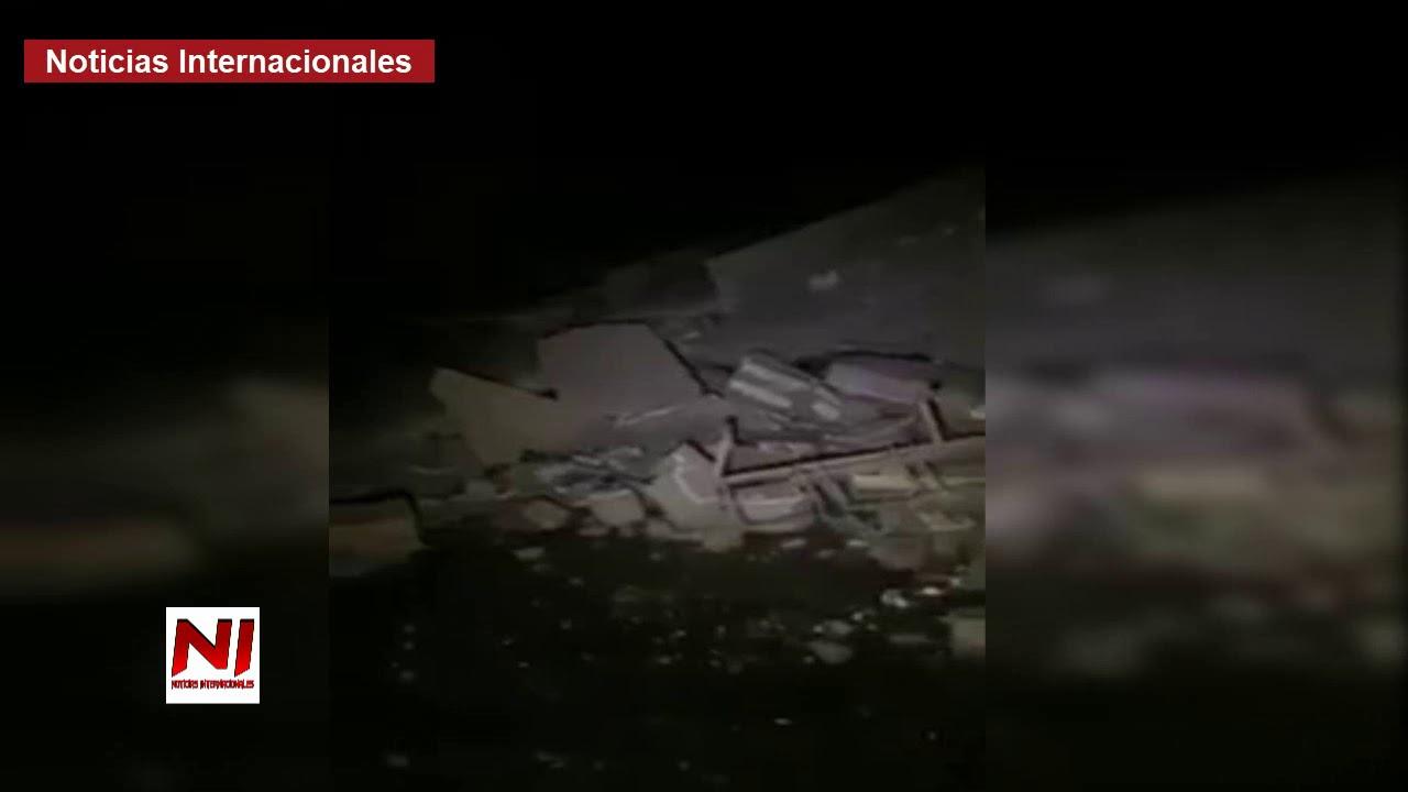 Más de 100 muertos y miles de heridos deja fuerte Terremoto entre Irán e Irak.