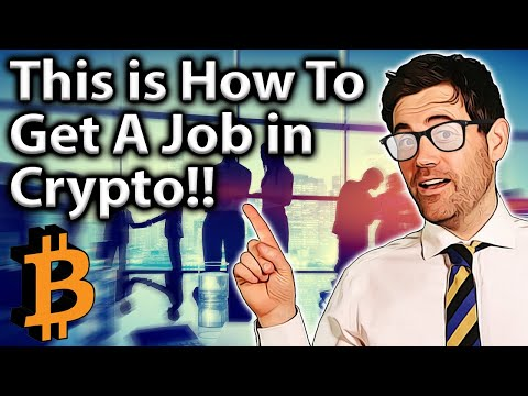 TOP TIPS To Get a Job in The Crypto Industry!! 🤓