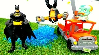 Видео с игрушками. Бэтмен против Бэйна: новая миссия