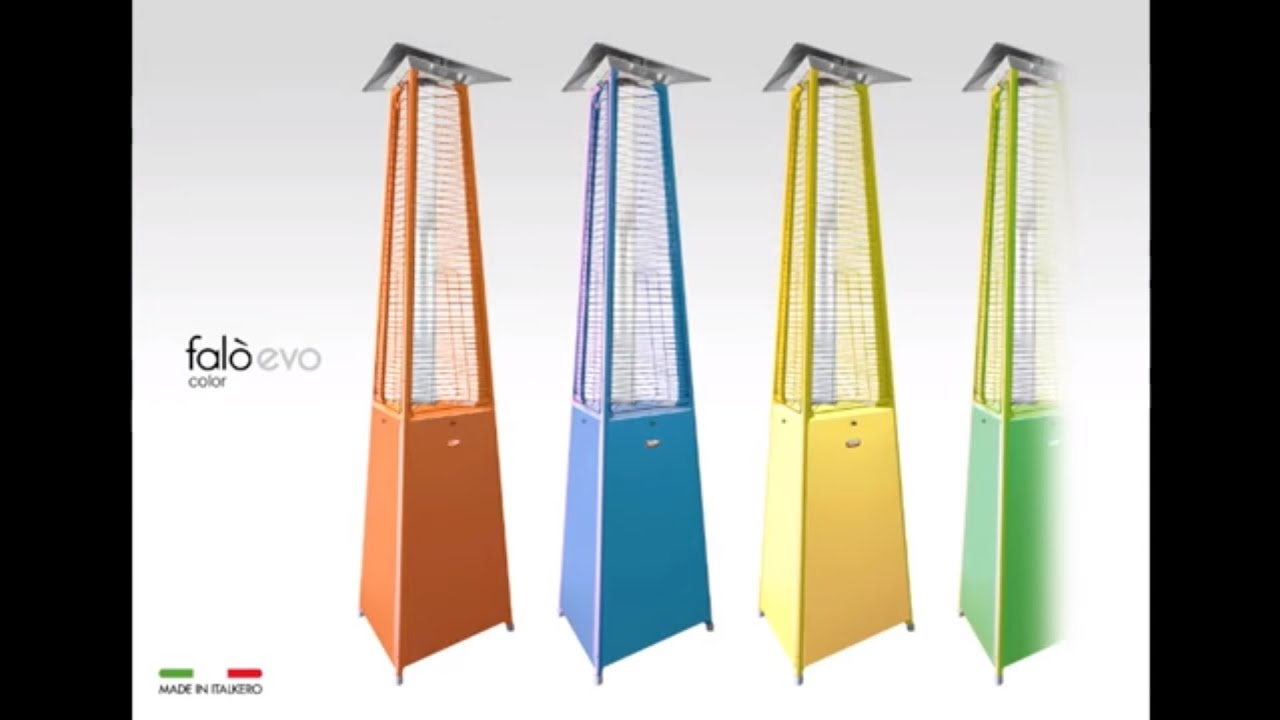Falo EVO Gas Patio Heater by Spirit Fires Ltd UK