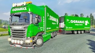 Scania Tandem ETS2 (Euro Truck Simulator 2)