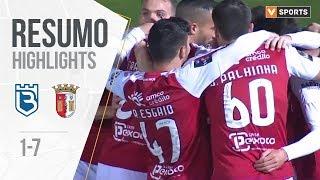 Highlights   Resumo: Belenenses 1-7 SC Braga (Liga 19/20 #15)